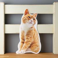 猫のかたちポストカード マメA