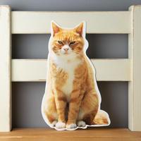 猫のかたちポストカード マメB