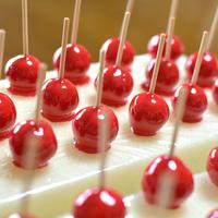 りんごアメ・赤色 ミニ・キーホルダー