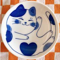 小皿(ミケねこちゃん)