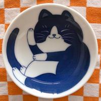 小皿(ハチワレちゃん)