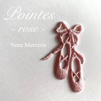 バレエシューズ/ピンク/刺繍アイロンワッペン