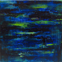 Petite impression bleue 青と緑の世界