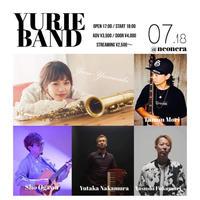 2021/7/18(日) YURIE BAND 配信LIVE(¥3,500)