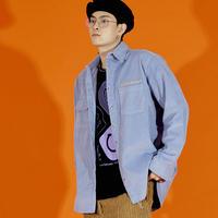 ND 21FW Corduroy Shirt (Purple)