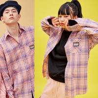 19S Check shirt (Pink+Blue)