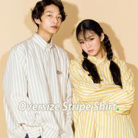 ]NEONDUST. Oversize Stripe Shirt