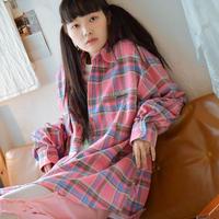 ND19W Check Shirt (Pink)