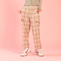 [ND] 20SP Check Pants (Pink)