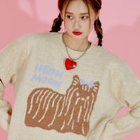 Doggie knit (Beige)