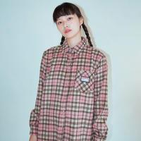 19W Check Shirt (Pink)