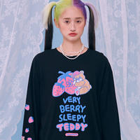 Sleepy Teddy Long T (Black)
