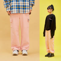 Cotton Pocket Pants (Pink)