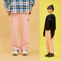 Cotton Pocket Pants (Pink)