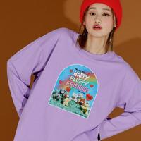 Friends T-shirt (Purple)