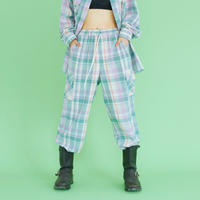 [ND.] 20SM Check Pants (Mint)