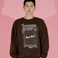 ND 21FW Sweat Shirt (Brown)