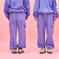 Cotton Pocket Pants (Purple)