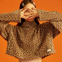 Turtle Neck T-Shirt (Leopard)