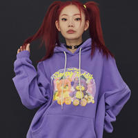 20FW Teddy Purple Hood T-Shirt