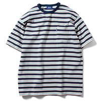 LFYT エルエフワイティー MULTI STRIPED POCKET TEE 半袖 Tシャツ WHITE ホワイト Size XXL
