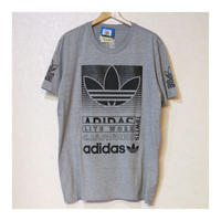 ADIDAS LITE WORK S/S T GREY Size US XL