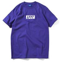 LFYT BOX LOGO TEE Purple Size M