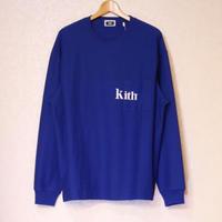 KITH L/S QUINN  MAZARINE BLUE Size L
