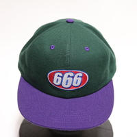 Supreme 2017S/S666 6-PANEL CAP GREEN