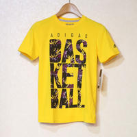 ADIDAS THE GO-TO TEE YELLOW Size KIDS M
