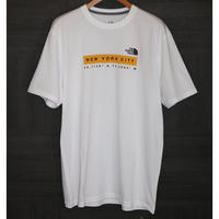 THE NORTH FACE NYC S/S Tee White Size L