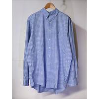 【古着】RALPH LAUREN L/S CHECK SHIRT Blue Size XL