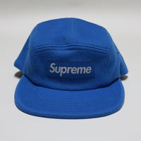 Supreme x Loro Piana Wool  Camp Cap キャンプキャップ  Blue