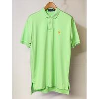 【古着】POLO RALPH LAUREN S/S POLO SHIRT Green Size M