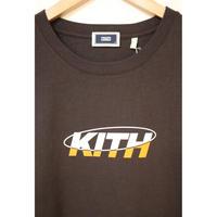 KITH ORBIT TEE ESPRESSO XL