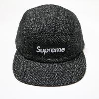 Supreme x Loro Piana Wool  Camp Cap キャンプキャップ  Tweed Monotone モノトーン