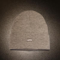 KITH CLASSIC DOCK BEANIE Light Heather Grey