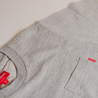 Supreme ポケ付きTシャツ(グレー)