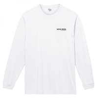 やっぱ白がホットな西海岸スタイルの「Love & Imagination」7.4oz ロングスリーブTシャツ