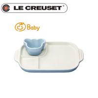 ル・クルーゼ (Le Creuset)  皿  ベビー・マルチプレート&ラムカンのセット【日本正規販売品】