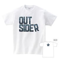 Tシャツ:デニムOUTSIDER