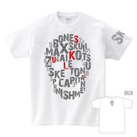 Tシャツ:スカル01