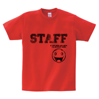 Tシャツ:STAFF01(生地色13色から選択可)