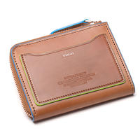 Smart Wallet (L Zip)  / スマートウォレット(L字ジップ)   KS52-WK-Skydiver / Lemon
