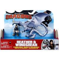 ヒックとドラゴン How to Train Your Dragon スピンマスター Spin Master  Dragons Dragon Riders Heather & Windshear
