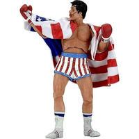 ロッキー Rocky ネカ NECA フィギュア おもちゃ IV 40th Anniversary Series 2 Action Figure [American Flag Trunks]
