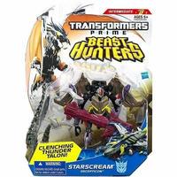 トランスフォーマー Transformers ハズブロ Hasbro Toys フィギュア おもちゃ Prime Beast Hunters Starscream Deluxe