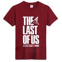 ラスト オブ アス  The Last of Us ゲーム ロゴデザインTシャツ  4