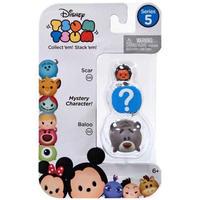 ディズニー Disney ジャックスパシフィック Jakks Pacific フィギュア おもちゃ Tsum Tsum Series 5 Scar & Baloo 1-Inch Minifigure