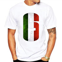 レインボーシックス シージ  ロゴデザイン  Tシャツ  半袖   Tom Clancy's Rainbow Six Siege R6S シージグッズ 7